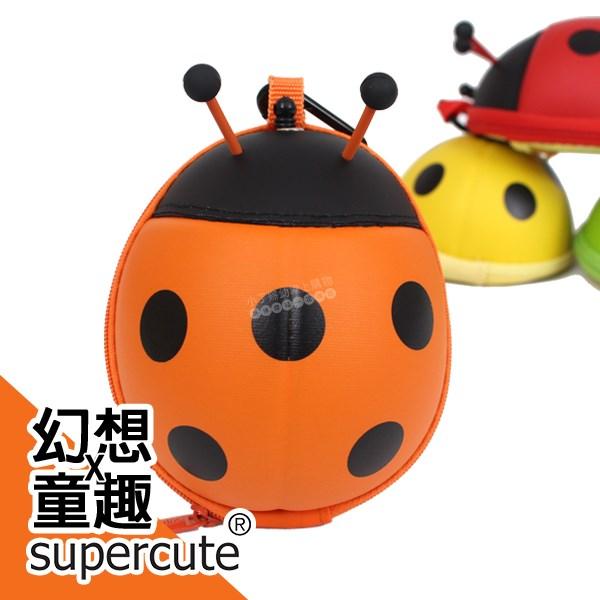 supercute 瓢蟲鑰匙/收納/零錢包-橘 R-SF031-O0