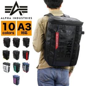 ALPHA INDUSTRIES INC.(アルファインダストリーズ) スクエアリュック デイパック バックパック A3 PC収納 91140 メンズ 送料無料