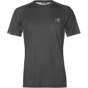 Karrimor Mens Aspen Technical T Shirt カリマー メンズ 半袖Tシャツ トレーニングウェア ランニングウェア 防水 通気性 Charcoal M
