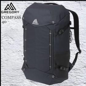 GREGORY グレゴリー コンパス40 ブラック/カーボン  COMPASS 40 BLACK/CARBON
