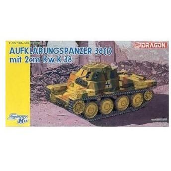 中古プラモデル 1/35 38(t) 偵察戦車 2cm Kw.K.38 砲塔載型 「'39-'45 SERIES」 [6294]