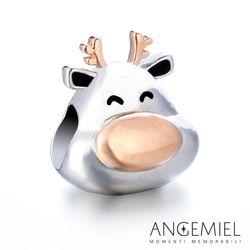 Angemiel安婕米 925純銀珠飾 麋鹿 串珠
