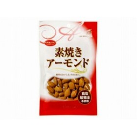 共立食品 素焼きアーモンド チャック付 80g x10 4901325201836