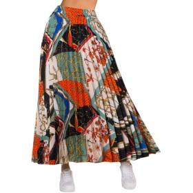 スカート レディース ビーチ ギンガム スカート 大きいサイズ ゴム シフォン 美脚 セクシー カワイイ 優雅 ふわふわ エレガント 学生スカート 体型カバー フィットする 通勤 日常