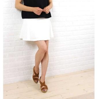 NIMES(ニーム)綿ナイロン フラワージャカード 切替フレア スカート・NLG4102052-0091501【CN】