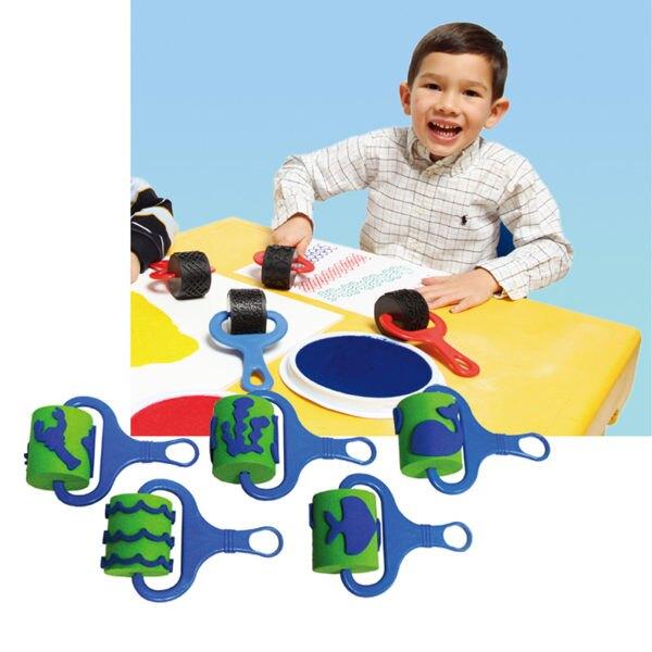 【華森葳兒童教玩具】美育教具系列-連續印-海洋 L1-AP/730/FPRS