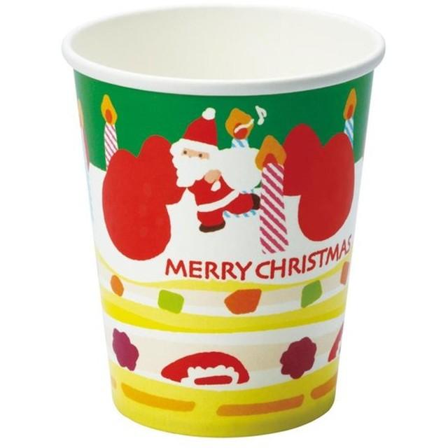 クリスマスシリーズ コップ クリスマスケーキ PT316 8枚×10セット