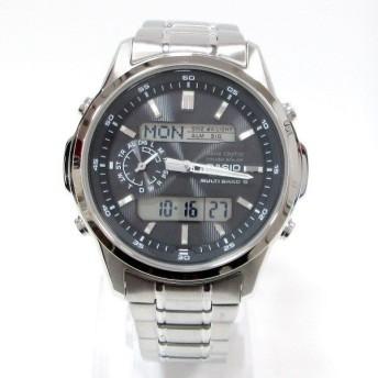 時計 カシオ LINEAGE LCW-M300D-1AJF メンズ 電波ソーラー 黒文字盤 【中古】【あすつく】