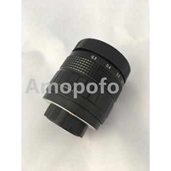 amopofo、c-pq +ブラック35mm f1.7CマウントCCTVレンズfor Pentax Q Q - (新品未使用の新古品)