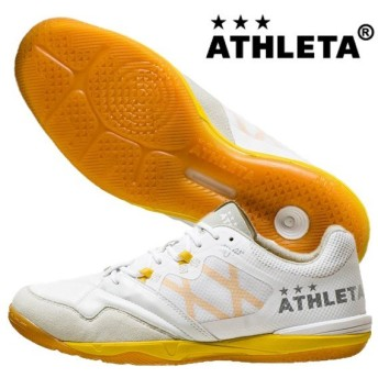 アスレタ ATHLETA O-Rei Futsal Arthur オーヘイフットサル アルトゥール 11008-1820 フットサルシューズ インドア 体育館 ホワイト 白 2019秋冬
