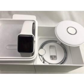 (中古) Apple Watch Edition Series2 38mm ホワイトセラミックケース/クラウドスポーツバンド MNTN2J/A