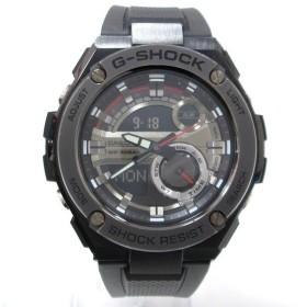 時計 カシオ G-SHOCK GST-210B メンズ クオーツ 黒文字盤 【中古】【あすつく】