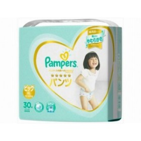 パンパース はじめての肌へのいちばんパンツ スーパージャンボ ビッグサイズ 30枚x1 4902430680417