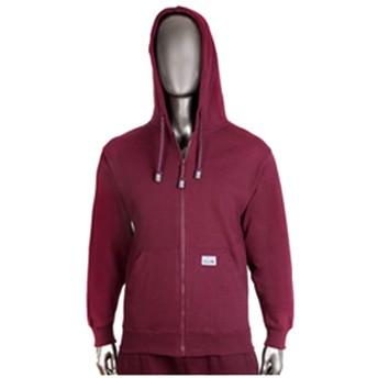 Pro ClubメンズHeavyweight Full Zip Fleece Hoodie US サイズ: M カラー: レッド