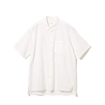 (ビームスライツ)BEAMS LIGHTS/半袖シャツ/ブロード レギュラーカラー 半袖シャツ メンズ WHITE S