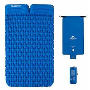 Naturehike 2人用 超軽量エアウェーブマット 防水 枕の厚さ10cm ピローマット キャンピングマット エアーベッド テントマット 寝袋マッ