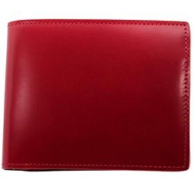 二折財布(小銭入付) 松阪レザー 牛革 バンビ GREDEER コードバン GCKC106(レッド) GCKC106