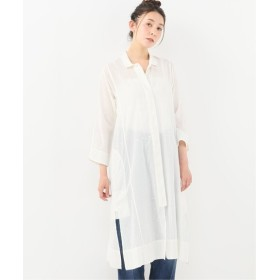 journal standard luxe 【Khadi & Co / カディ&コー】 Dot long shirts ホワイト L