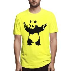 Shamp バンクシー Banksy Tシャツ メンズ 半袖 無地 ゆったり 快適な ファション カジュアルtシャツ 夏服 ファション