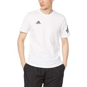 [アディダス] 半袖シャツ サッカーウェア TANGO STREET LOGO Tシャツ FWT35 [メンズ] ホワイト (DY5849) 日本 J/L (日本サイズL相当)