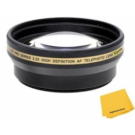Xit 55mm 2.2X高AF望遠レンズ(ブラック)(中古良品)