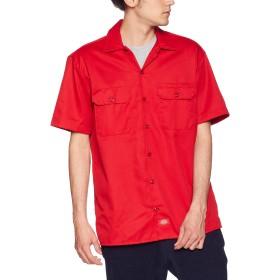 [ディッキーズ] 【Dickies】1574 半袖ワークシャツ 1574-DS-2X 【Dickies】1574 半袖ワークシャツ 1574-DS-2X メンズ DK000042 レッド US L (日本サイズL相当)