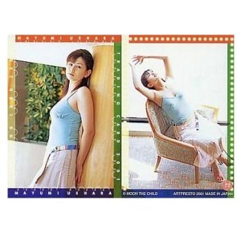 中古コレクションカード(女性) 72 : 上原まゆみ/レギュラーカード/上原まゆみ トレーディングカード2001