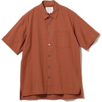 (ビームスライツ)BEAMS LIGHTS/半袖シャツ/ブロード レギュラーカラー 半袖シャツ メンズ LT.BROWN S