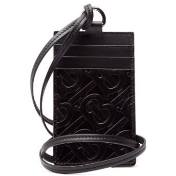 エンボスロゴ レザーネックレス カードケース