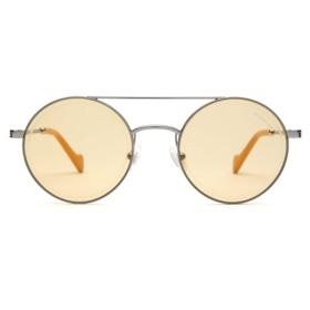 ラウンドフレーム メタルサングラス