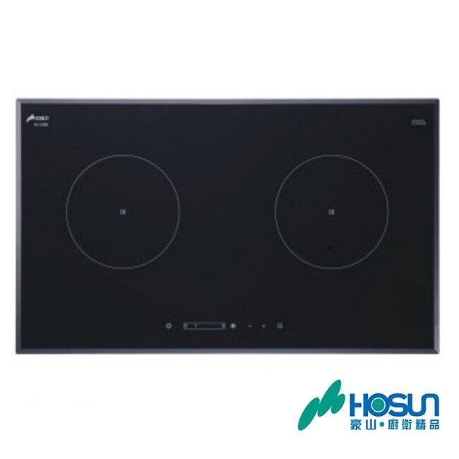豪山 滑動式觸控雙口微晶調理爐(220V) IH-2360