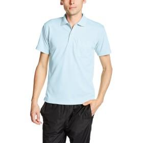 [グリマー] 半袖 4.4オンス ドライ ポロシャツ [ポケット付] 00330-AVP ライトブルー L (日本サイズL相当)