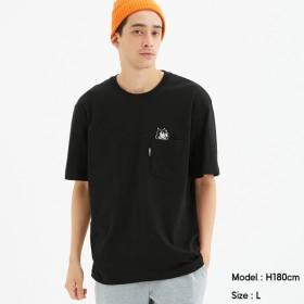 (GU)ビッグT(半袖)FELIX4 BLACK XL