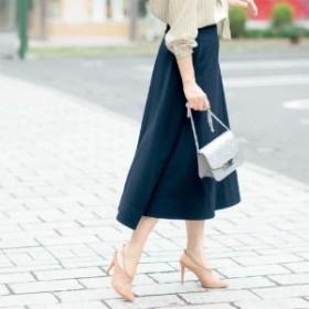 【STYLE SNAPコラボ】下腹ポッコリしにくいすっきりロングスカート