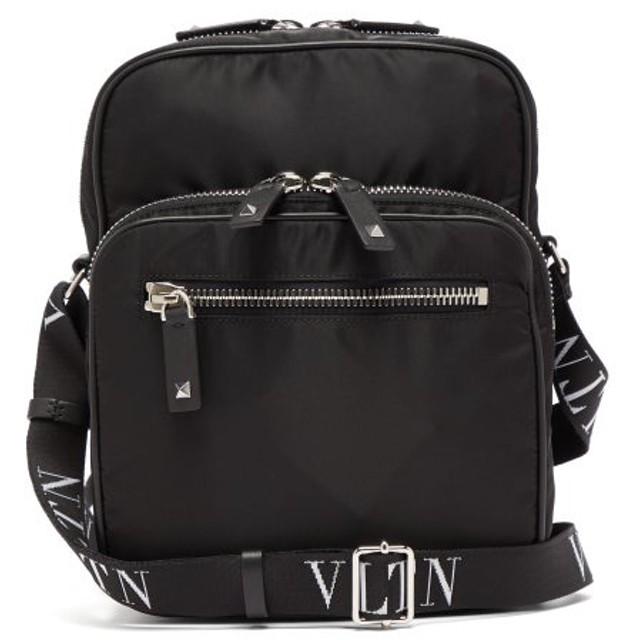 Valentino VLTN テクニカルキャンバス メッセンジャーバッグ