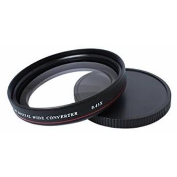 Dovewill 全7サイズ Nikon Canon カメラ用 軽量 0.45X 広角レンズ (新品未使用の新古品)