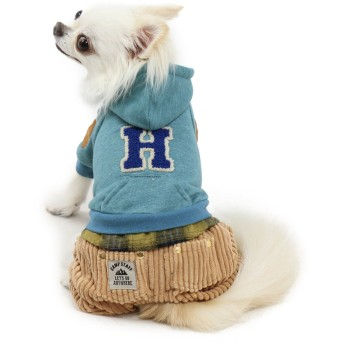 【オンワード】 PET PARADISE(ペットパラダイス) ペットパラダイス パンツつなぎ ピンク〔小型犬〕 青 DSS
