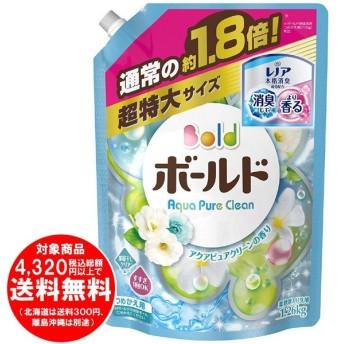 [売り切れました] ボールド 洗濯洗剤 液体 アクアピュアクリーンの香り 詰替用 超特大サイズ 1.26kg