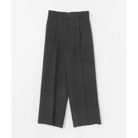 [アーバンリサーチ ロッソ] パンツ センプレワイドパンツ レディース BLACK 38