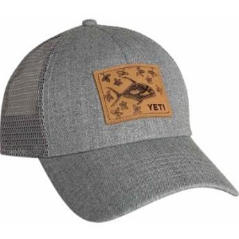 イエティ YETI メンズ キャップ 帽子 Permit In The Mangroves Patch Trucker Cap Grey