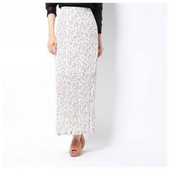 ハニーミーハニー HONEY MI HONEY flower crinkle skirt/フラワークリンクルスカート (navy(offwhite))