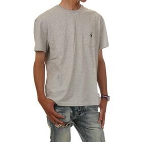 (ポロ ラルフローレン) POLO RALPH LAUREN/Pocket Short Sleeve Tee ポケット ワンポイント 半袖Tシャツ ポケT ユニセックス (L, テイラーヘザー) [並行輸入品]