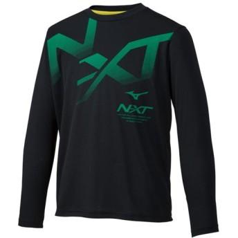 MIZUNO SHOP [ミズノ公式オンラインショップ] Tシャツ(長袖)[ジュニア] 09 ブラック 32JA9942