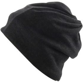 シンプル コットン ニット帽 レディース メンズ 冬 帽子 スキー 防寒 暖かい ニットキャップ シンプル多機能 2Way 厚手 防寒 防風 裏起毛 ふわふわ 暖かい 秋冬用MYBMZ-BK