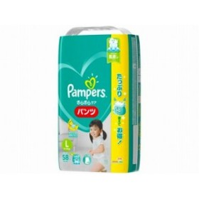 パンパース さらさらケア(パンツ) ウルトラジャンボ Lサイズ 56+2枚x1 4902430574358