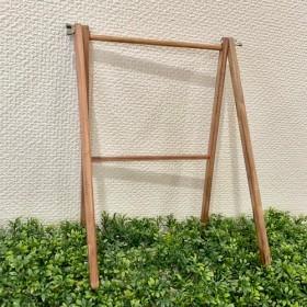 折りたたみ可能*木製ミニハンガーラック ペット用・ドール用ハンガーラック*ショップ用什器