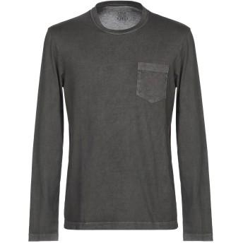 《セール開催中》ALTEA メンズ T シャツ スチールグレー XXL コットン 100%