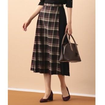 J.PRESS / ジェイプレス コットンリヨセルチェック スカート