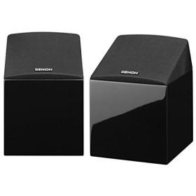 DENON 3Dサウンドスピーカーパッケージ ブラック [SC-EN10 (2本) + DSW-37]