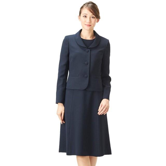 Black Gallery お受験スーツ アンサンブル ママ 濃紺スーツ ジャケット
